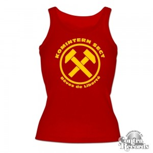 "KOMINTERN SECT - ""RDL"" - Girl - Tank Top (last sizes!!"