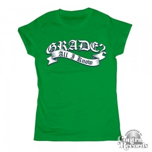 Grade 2 - All i know - Girl Shirt green