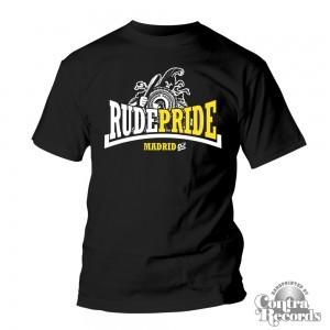 Rude Pride - Trojan - T-Shirt - Black