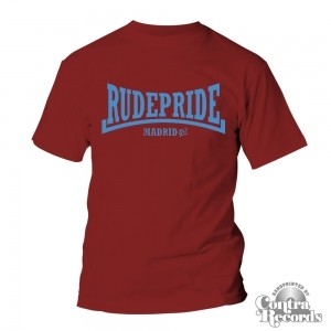 Rude Pride - T-Shirt - Bordeaux