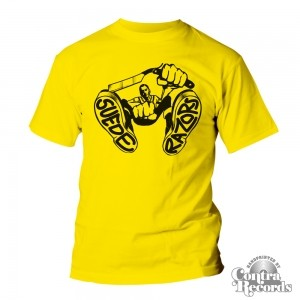 SUEDE RAZORS - Berlin Or Bust T-Shirt Yellow lim.30pcs only!