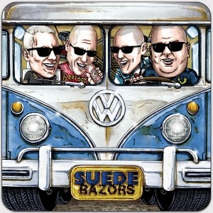 """SUEDE RAZORS - Berlin Or Bust 7""""EP lim.300 Yellow"""