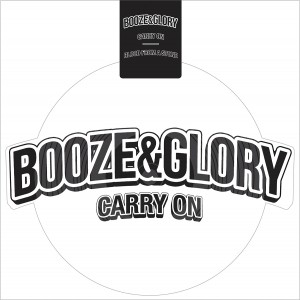 BOOZE & GLORY - Carry On-Shaped Vinyl-LP-white (US Edt.)