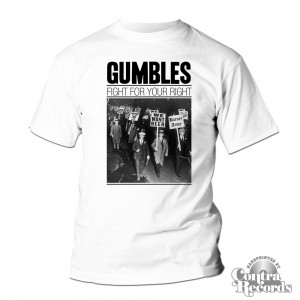 Gumbles - Fight For Your Right (BEER) T-Shirt white