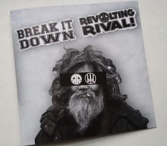 """V/A Revolting Rival/Break it Down -Split 7""""EP"""
