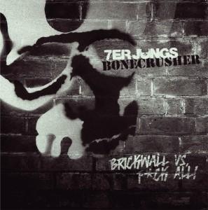 """V/A Bonecrusher/7er Jungs- Split 7""""EP lim.200 Black"""