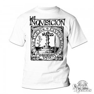 "LA INQUISICIÓN - ""BARCINO"" - T-Shirt - White (last size -XXL)"