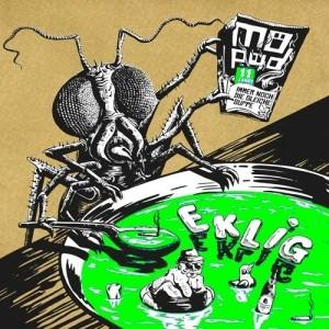 "Möped - Eklig 12""LP Screenprinted Cover lim.100 Black"