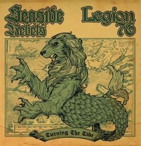 """V/A Seaside Rebels/Legion 76-Turning The Tide 7""""EP lim.500Black"""