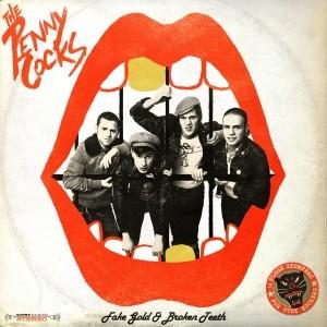 """Pennycocks - Fake Gold & Broken Teeth 12""""LP lim. 150Gold"""