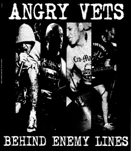 "Angry Vets - Behind Enemy Lines 12""LP lim. 200Clear"