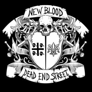 """V/A Dead End Street / New Blood - split 7""""EP lim300 Black"""