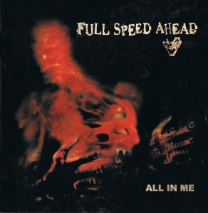 "Full Speed Ahead - all in me 12""LP colored & handnumbered+Zine"
