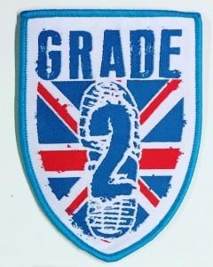 Grade 2 Logo - Patch