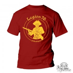 Legion 76 - Soldier - T-Shirt Men Bordeaux (last sizes!)