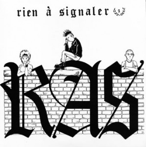 "R.A.S. - Rien à signaler 7""EP RP+Insert"