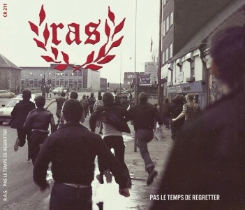 "R.A.S.-Pas le Temps de Regretter 12""LP Black1st.press"