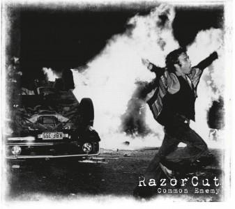 "Razorcut - Common Enemy 12""Gatefold-LP lim.150 Silver"