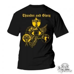 THUNDER & GLORY -T-Shirt black