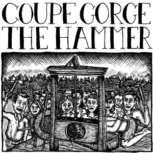 """V/A Coupe Gorge/The Hammer - Split 7""""EP lim.135 White Cover"""