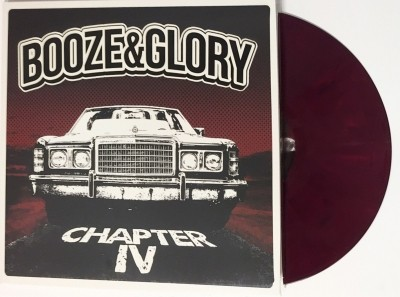 "Booze&Glory-ChapterIV 12""LP lim.300 Oxblood(CONTRA RECORDS excl)"
