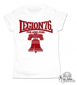 Legion 76 - Bell - Girl Shirt White