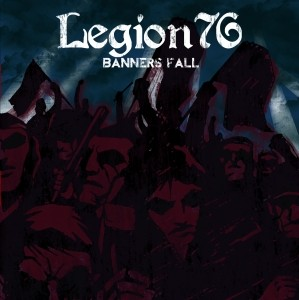 "Legion 76 -Banners Fall -10""LP lim.200 solid aqua blue"