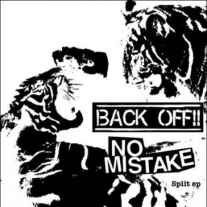 "V/A No Mistake / Back Off!!-Split 7""EP lim.275 Grey"