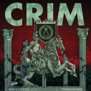"CRIM-Blau sang,Vermell cel 12""GF-LP lim.250Bottle Green/Red&Blk"