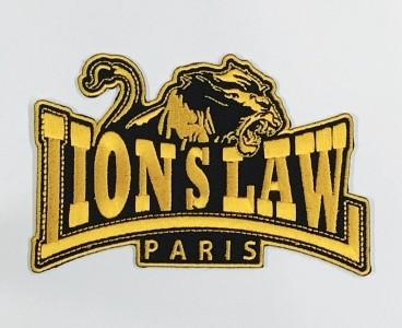 Patch - Lion`s Law -  Yellow