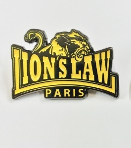 Metall-Pin - Lion's Law -  Yellow
