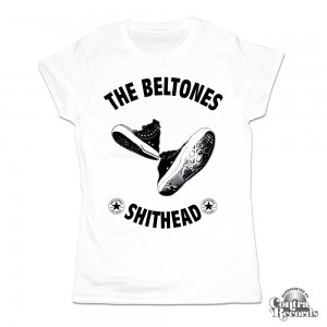 Beltones,The - Shithead - Girl Shirt White