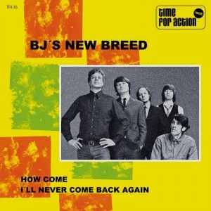 """BJ´S New Breed-How come 7""""EP Black"""