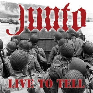 "Junto -Live to Tell 7""EP lim.100 Oxblood w/ Black Splatter"