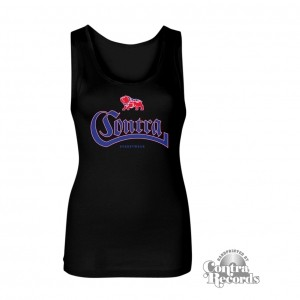 Contra - Streetwear small bulldog - Girl Tank Top Black
