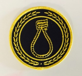 """CRIM """"noose"""" yellow - Patch"""
