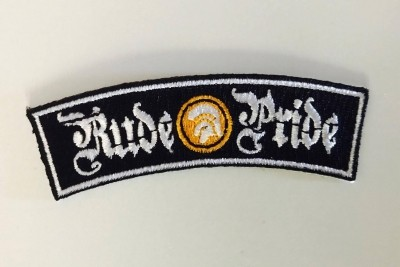 Patch - Rude Pride - lettering