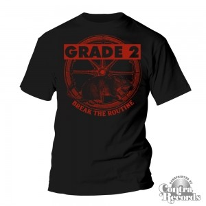 Grade 2 - Break The Routine T-Shirt black