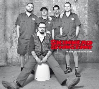 Arthur And The Spooners - Skinhead Spoonstomp Digipack-CD