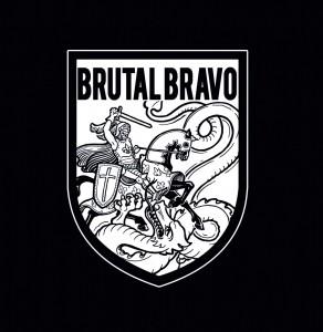 "Brutal Bravo - s/t 7""EP  lim.200 Haze incl. Download"