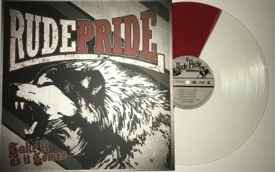 """Rude Pride - Take it as it comes 12""""GF-LP lim.300 half/half"""
