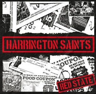 "Harrington Saints - Red State 7""EP lim.200 White"