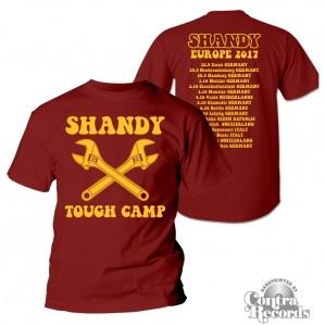 Shandy - European Tour Shirt 2017 (leftover)