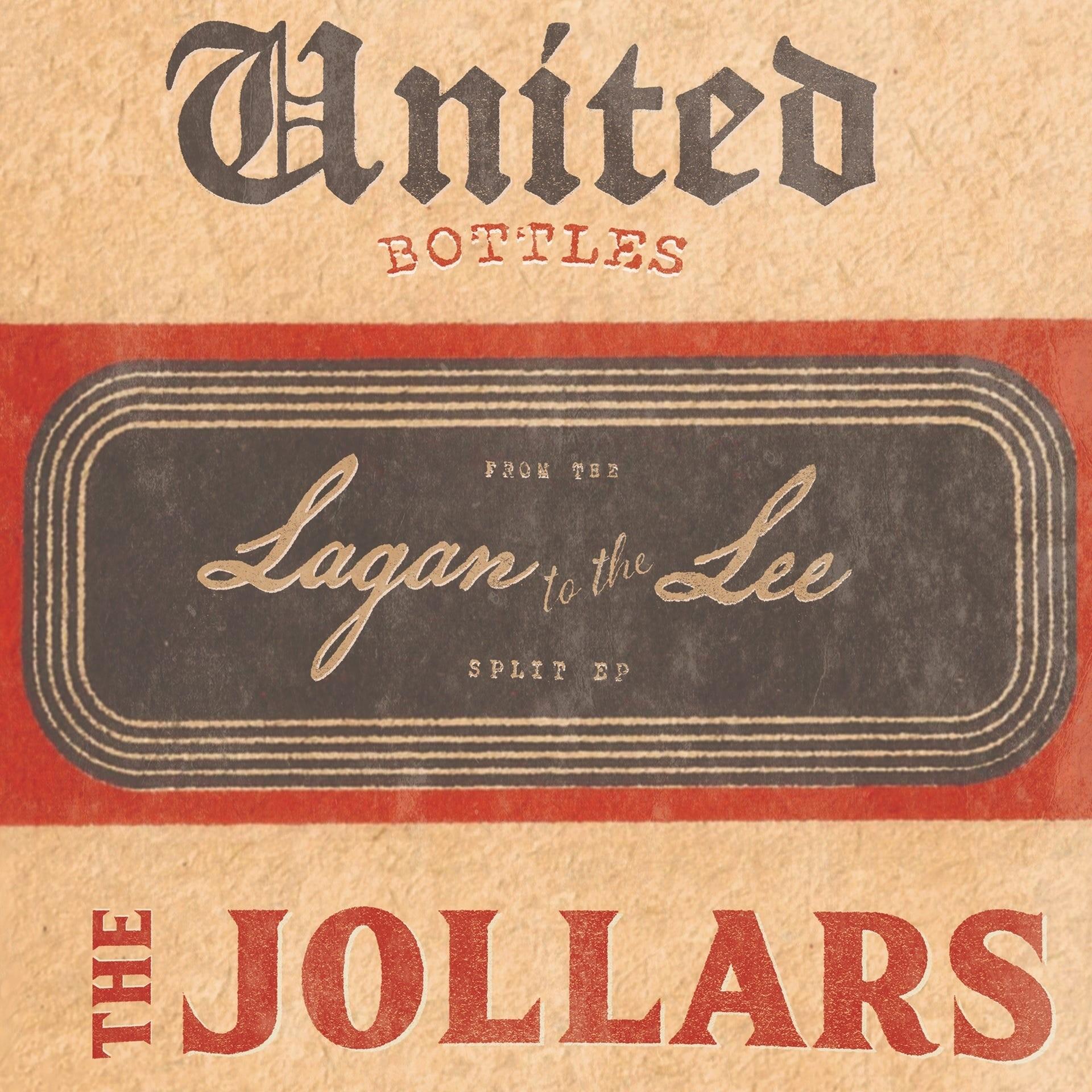 """V/A United Bottles / The Jollars - split 7""""EP"""