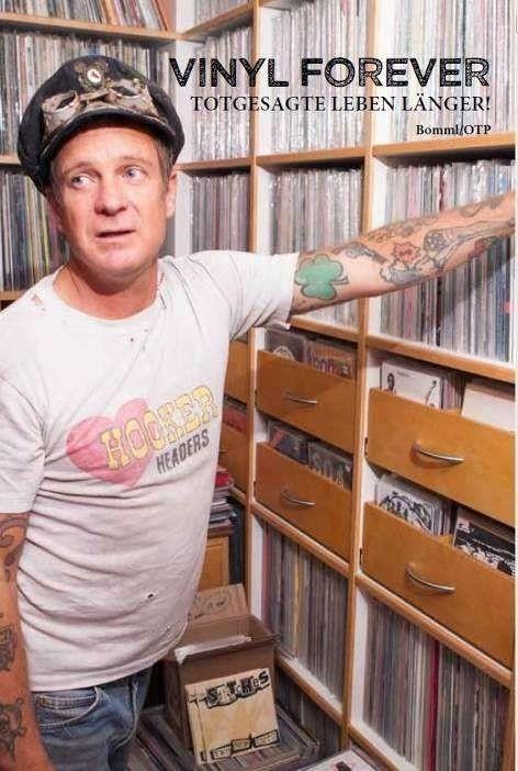 Vinyl Forever-Totgesagte Leben länger- Buch
