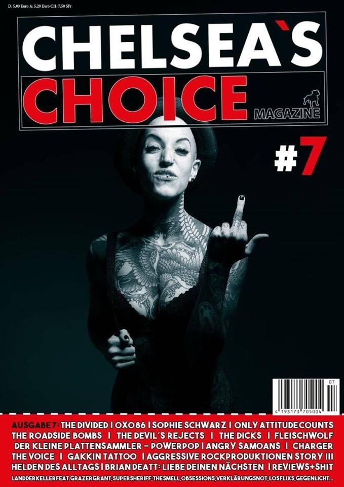 "Chelsea`s Choice Magazine #7 INCL. FREE FLEXI 7"""