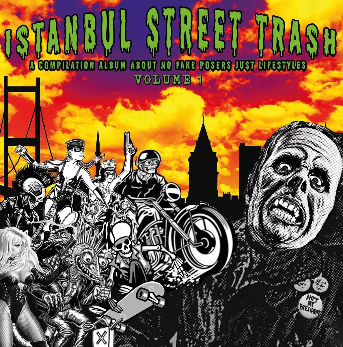 """V/A ISTANBUL STREET TRASH COMPILATION Vol.1 - 12""""Lp"""