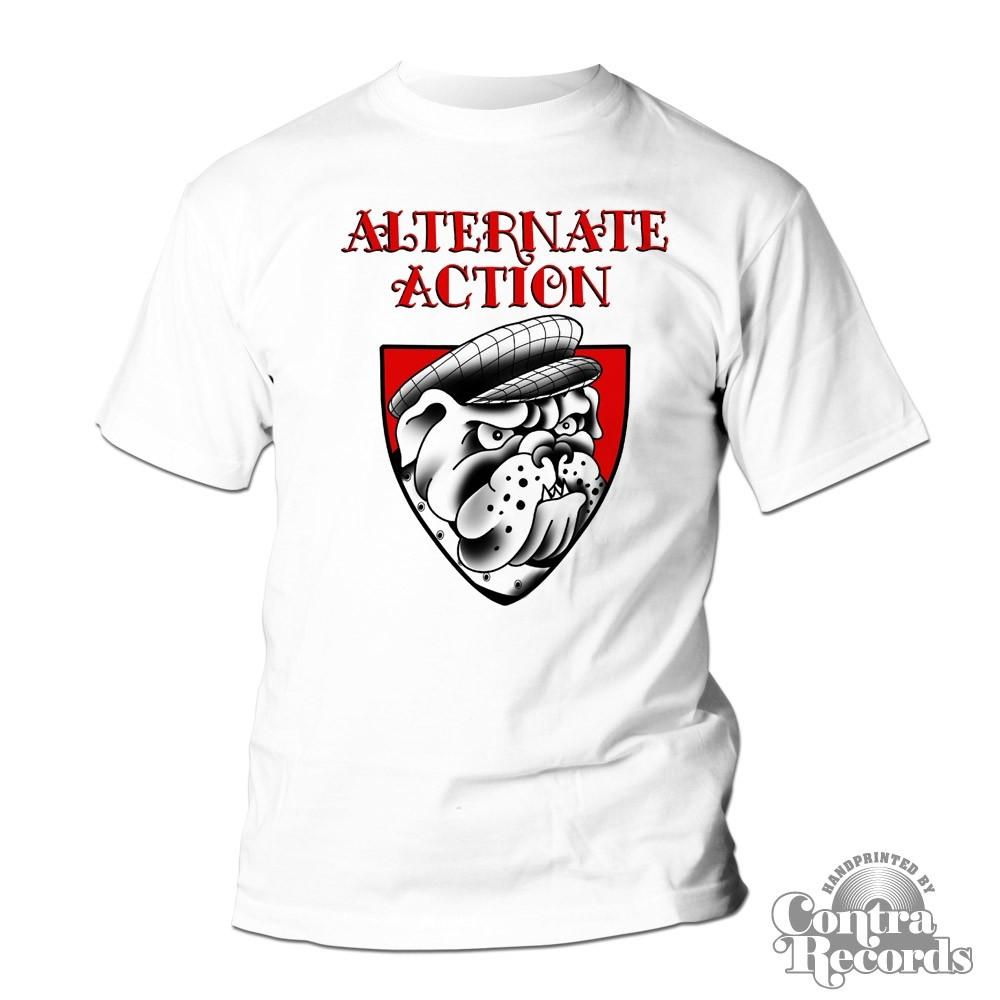 "Alternate Action - ""Bulldog"" - T-Shirt white"