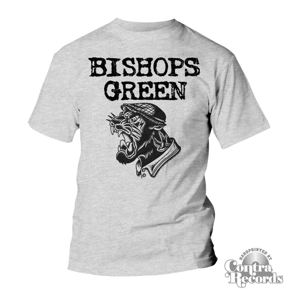 Bishops Green - Panther T-Shirt grey