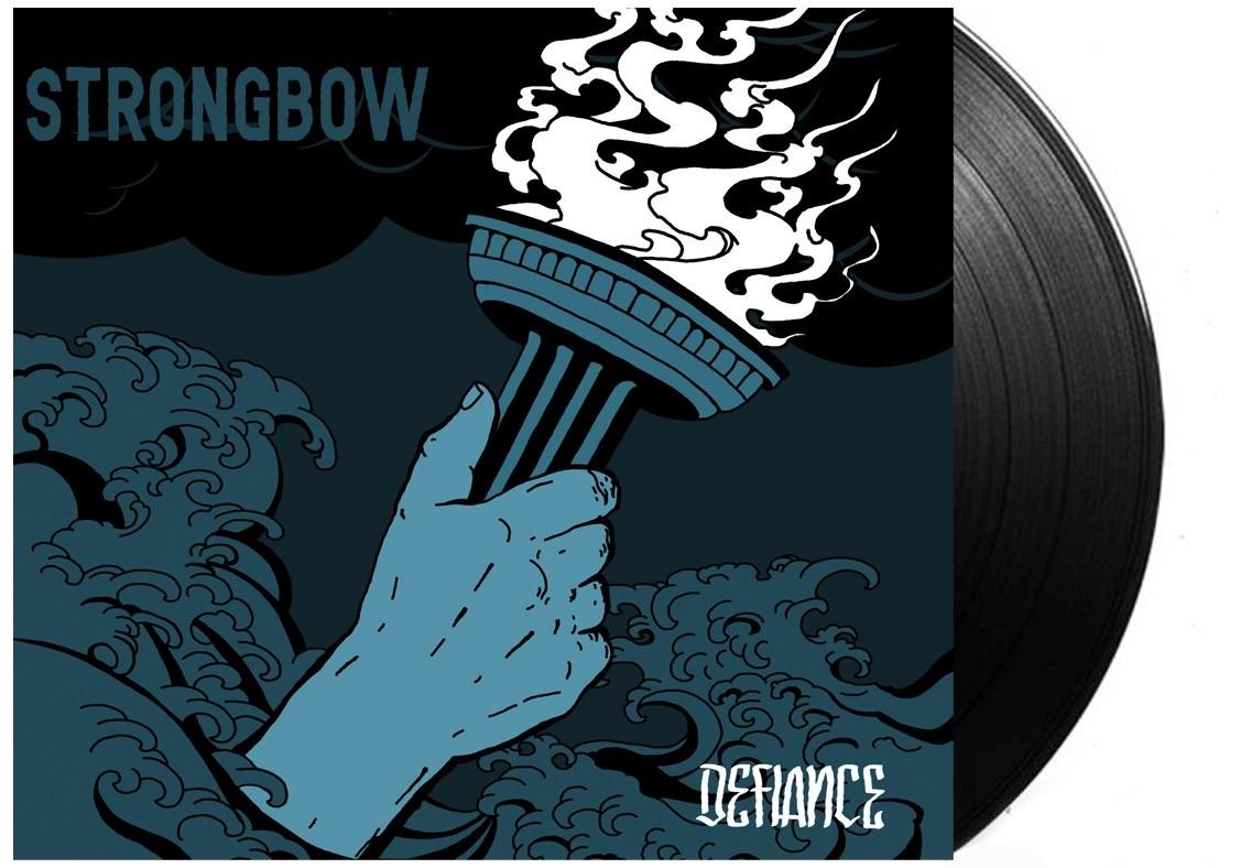 "Strongbow - ""Defiance"" 12""GF-LP lim.300 solid Black (PRE ORDER)"